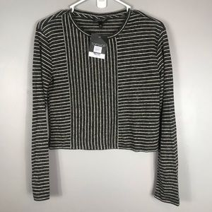 Nwt Topshop Cropped Top Size 4